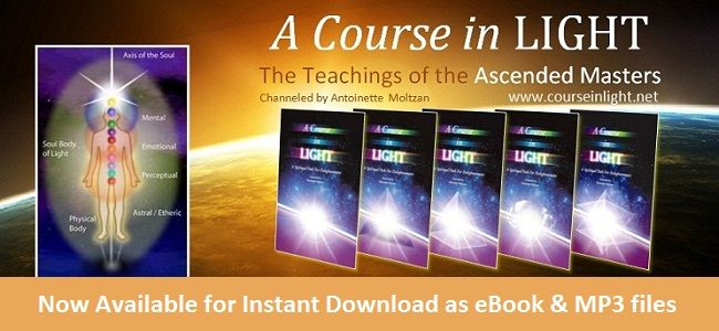 A course in light is a guided meditation course based on the ascended master teachings as channeled by spiritual medium Toni Moltzan. >> Ascended Master Teachings --> http://www.courseinlight.net