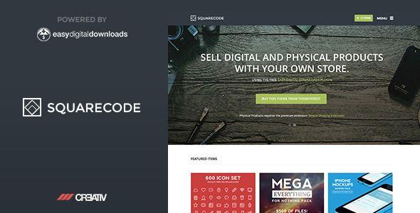 SquareCode v1.2.2 – Premium WordPress Theme