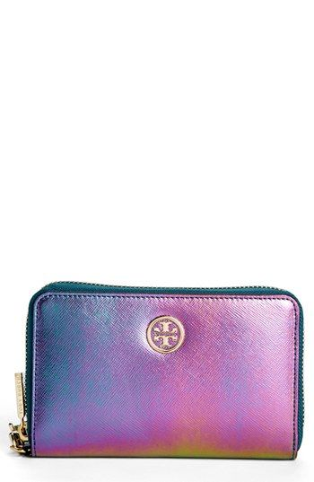VIDA Leather Statement Clutch - Purple Spring by VIDA