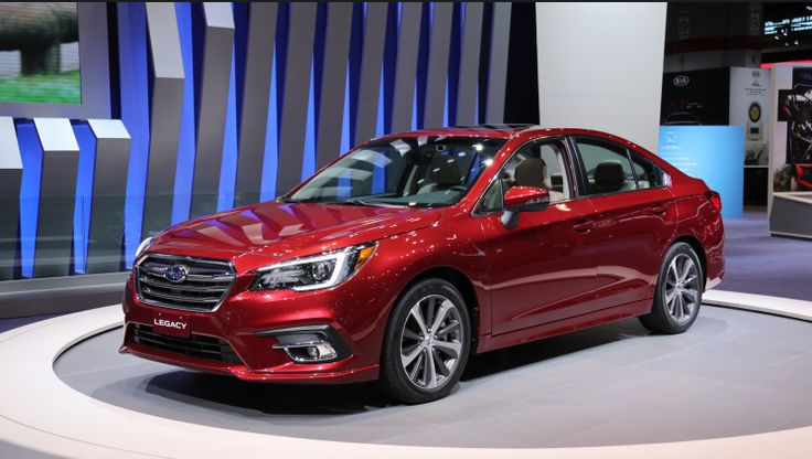 Subaru Legacy 2018 - The sixth-generation Subaru Legacy obtained its mid-cycle renovation exactly 36 months later, at the same event. Remodeled inside and