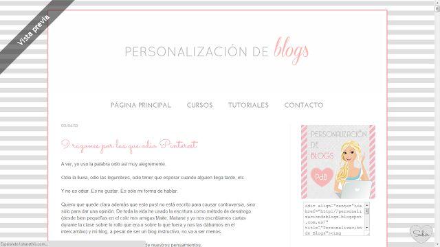 Como poner un boton de blog con cajita de código - Personalización de Blogs | Tutoriales blogger, trucos blog...