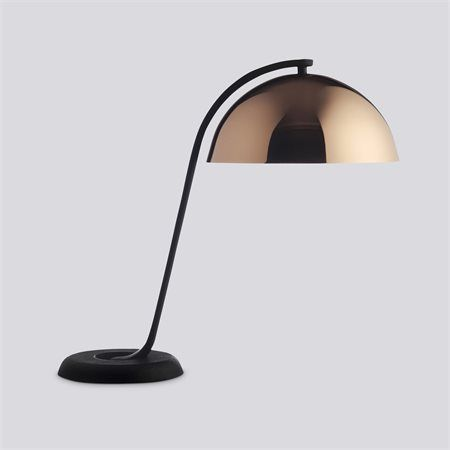 Simple wrong for hay cloche lampe kobber