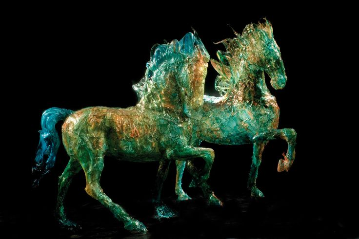 horse sculpture of Davide Dall'Osso