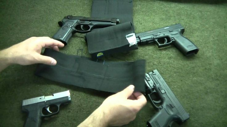 DIY How To Make A Concealed Carry Holster For $5