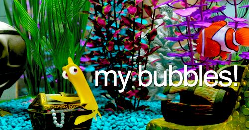 Bubbles bubbles bubbles my bubbles finding nemo for Bubbles fish finding nemo