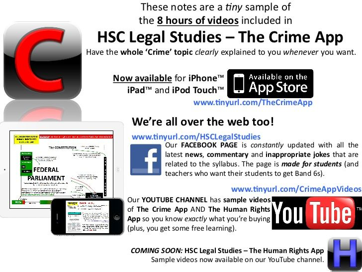 HSC+Legal+Studies+-+Young+Offenders+Topic