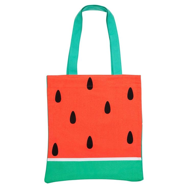 Chasing SummerThe simple and stylish summer tote? Strong enough to carry a watermelon any other shopping, beach gear and snacks in this cotton canvas bag. 38 x 0.5 x 43 cm