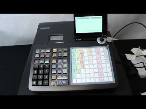 CASIO SEC450 CASH REGISTER - Casio Cash Registers - Casio - Cash Register Warehouse