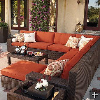 Such Pretty Patio Furniture!