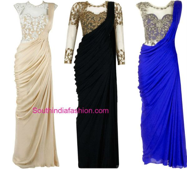 saree_gown_models
