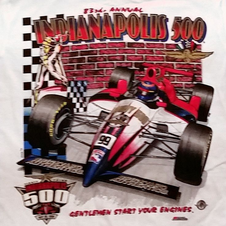 1999 INDY 500 Indianapolis Speedway Car Race 83 Starting
