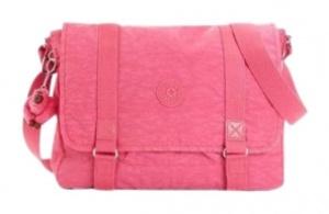 gumball pink messenger bag