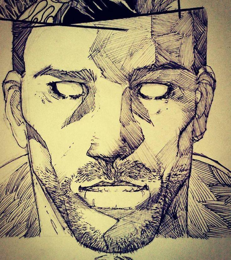 #WIP #inks #SinsOfTheChild #panel #comicbook #comicart #comicartist #comicpages #pencils #inking #emilianocorrea #art #artwork #instacomics #instaart #instayourdrawing #drawing #dibujo #dibujante #artista #shaun #comic #historieta #viñeta #lineart #comicpanel #face #asshole
