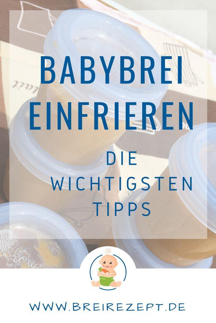 Babybrei einfrieren und in der Mikrowelle erwärmen – Anleitung und Tipps: www.b… – Babybrei Rezepte