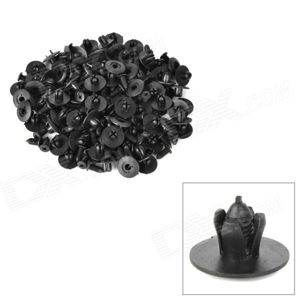 Model: 5090003; Quantity: 100 piece(s); Material: Plastic; Color: Black; Function: Fitting diameter: 8mm; Push type retainers set for car door panel; Universal design, fits most cars; Packing List: 100 x Push type retainers; http://j.mp/1ocrPh8