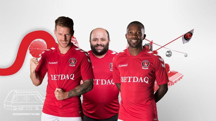 Charlton Athletic 2017/2018 Home Kit