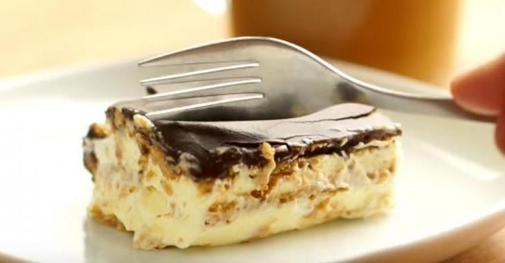 Gâteau éclair sans cuisson