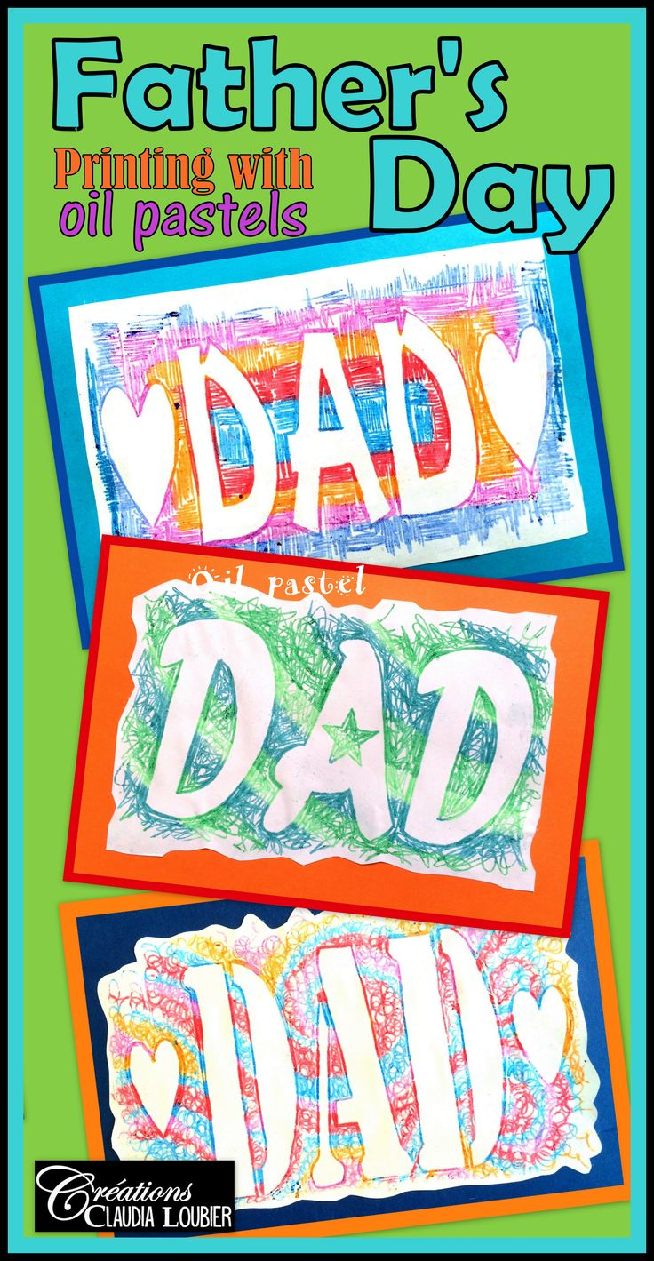 Are you looking for an original idea for Father's Day? I suggest this project using oïl pastel printing. A magical technique that the students adore.  You need simple materials and only 2 periods.  For Grades 1 and up.  This document contains:  -The instructions: 2 pages. - Explanatory photos: 9 pages. - Support sheets to print: 16 pages. - Evaluation rubric.  To do this project you will need: - 1 support sheet per student (given in this document). - Oil pastels. - A pencil.