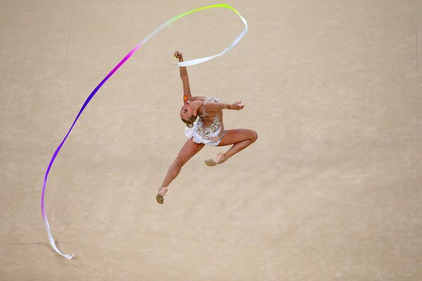 Yana Kudryavtseva Photos Photos - Yana Kudryavtseva of Russia competes during the Women's Individual All-Around Rhythmic Gymnastics Final on Day 15 of the Rio 2016 Olympic Games at the Rio Olympic Arena on August 20, 2016 in Rio de Janeiro, Brazil. - Gymnastics - Rhythmic - Olympics: Day 15