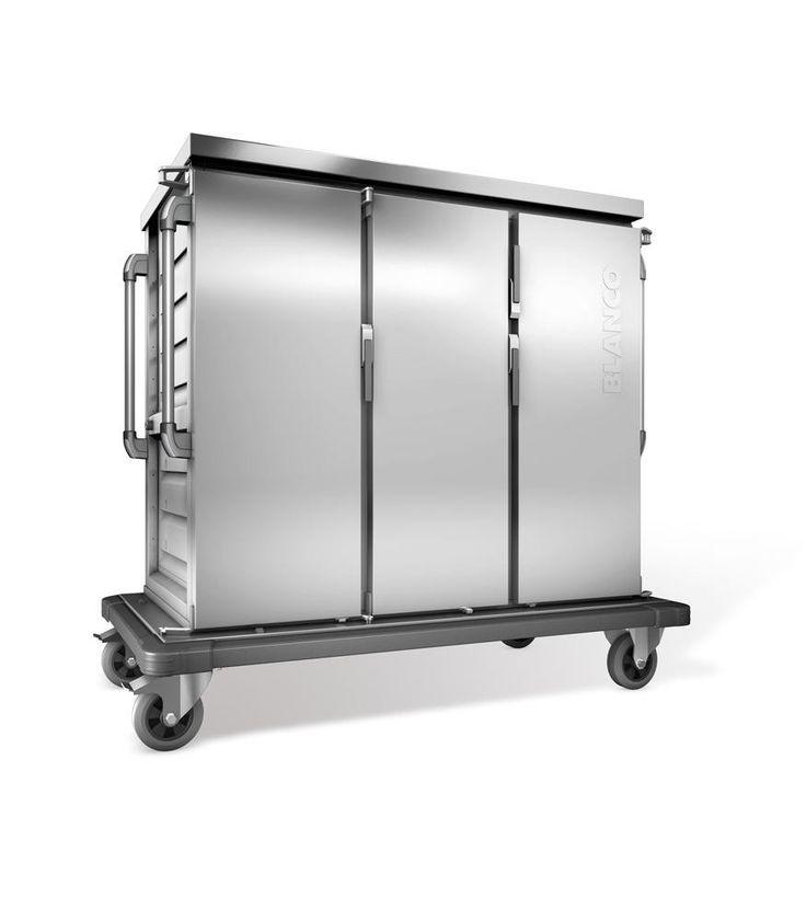 GTARDO.DE:  Tablettwagen 24 EN, einwandig, 3 Schränke mit Flügeltüren, BxTxH 1554x783x1406 mm 3 151,00 €