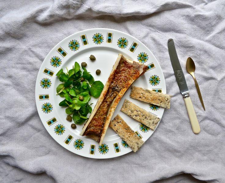 Garlic & Parmesan Roast Bone Marrow