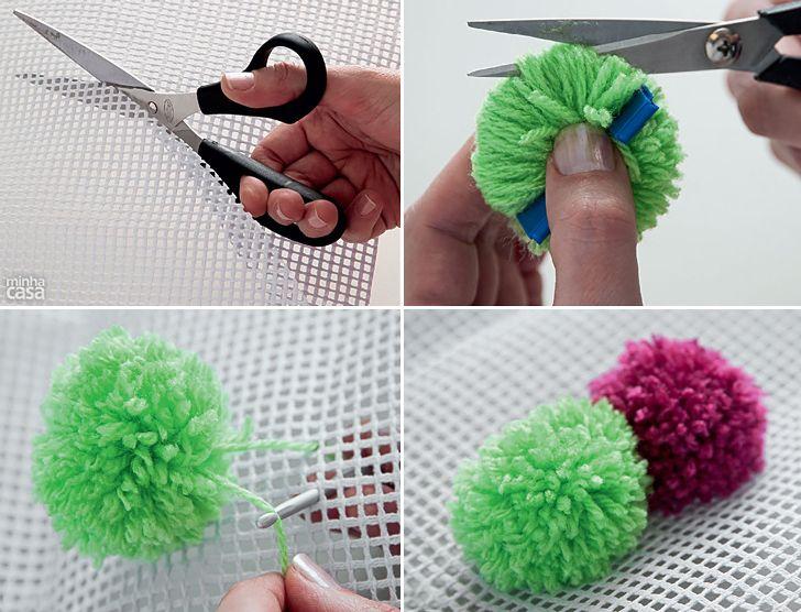 How to Make Pompom Rug - DIY & Crafts - Handimania
