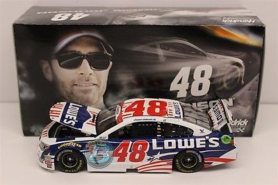 Other Diecast Racing Cars 45354: Jimmie Johnson 2015 Lowe S Patriotic 1:24 Nascar Diecast -> BUY IT NOW ONLY: $40 on eBay!