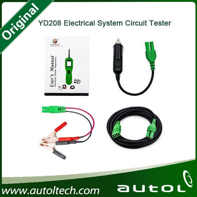 68.99$  Buy here  - New Arrival PowerScan YD208 Circuit Tester Electrical Tester Test Diagnostics Tool As Same as PS100