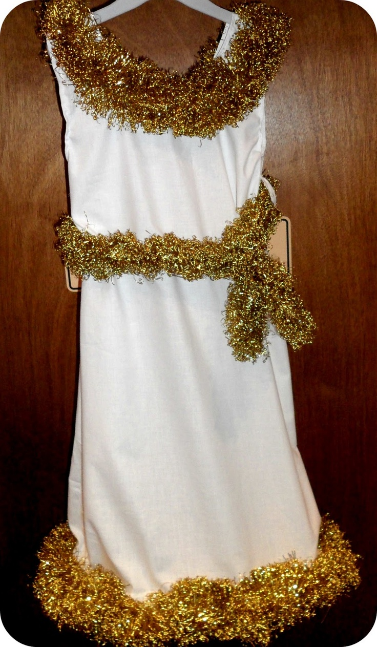 Pillowcase Angel Costume