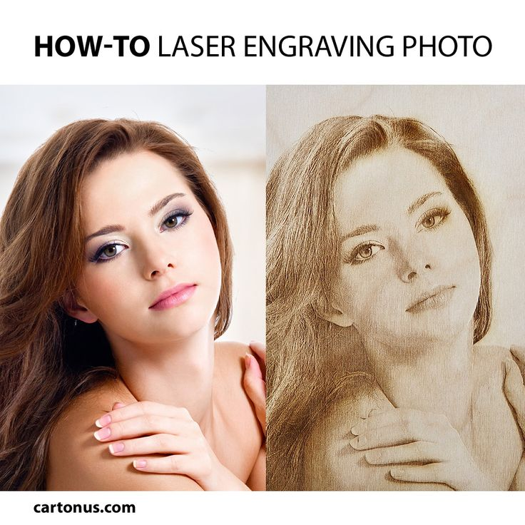 How-to: Laser engraving photo