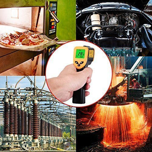 DT8380 Non-Contact IR Laser Infrared Digital LCD Thermometer Gun -50 - 380℃