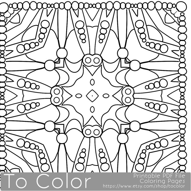 Pattern Coloring Sheets Printables : 101 best coloring pages images on pinterest