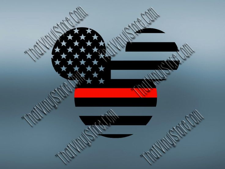 Mickey Back the Red Flag Thin Red Line Vinyl Decal | Disney Yeti Firefighter Decal | Disney American Flag | Red Lives Matter | 402 by ThatVinylStore on Etsy https://www.etsy.com/listing/482468496/mickey-back-the-red-flag-thin-red-line