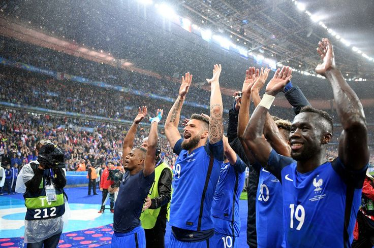 France have qualified for the European Championship semi-finals for the first time since 2000 (FRA 5 - 2 ISL) #EURO2016
