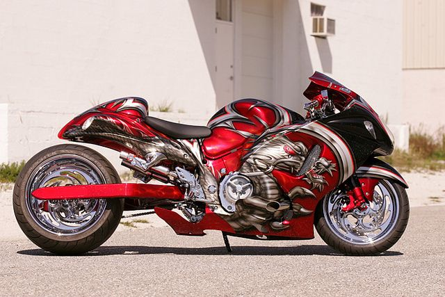 Roaring Toyz Custom Motorcycle