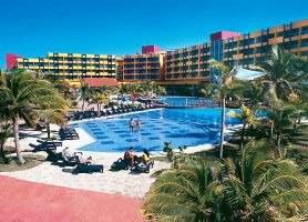 Hotel #Barcelo Solymar #Varadero is located on a precious area of Varadero's white sandy beach at the begging of the Peninsula and just 3 minutes walk from downtown #Varadero #Cuba