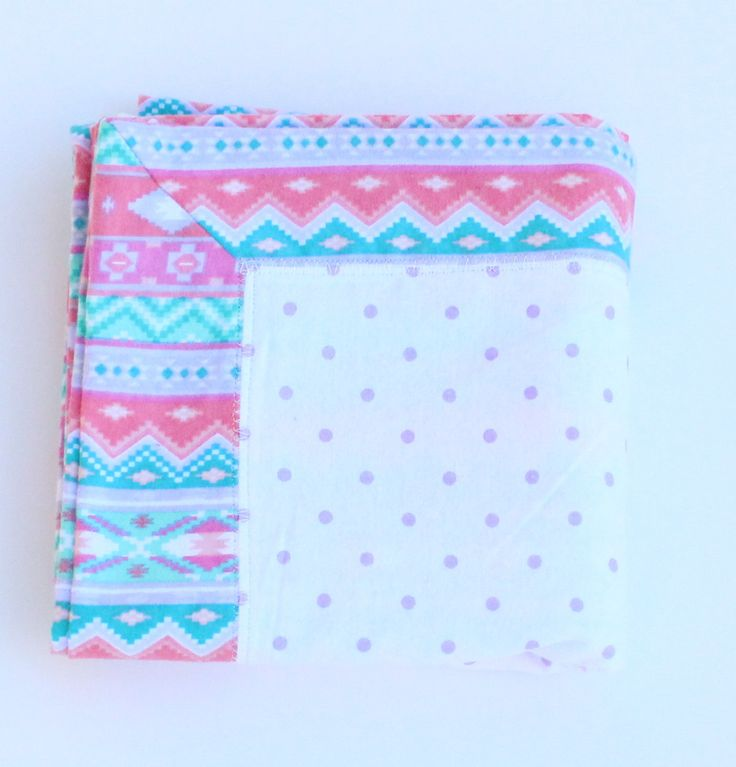 The 25 best baby girl personalized ideas on pinterest h boy baby girl personalized flannel blanket pink and teal receiving blanket aztec fabric flannel blanket negle Choice Image
