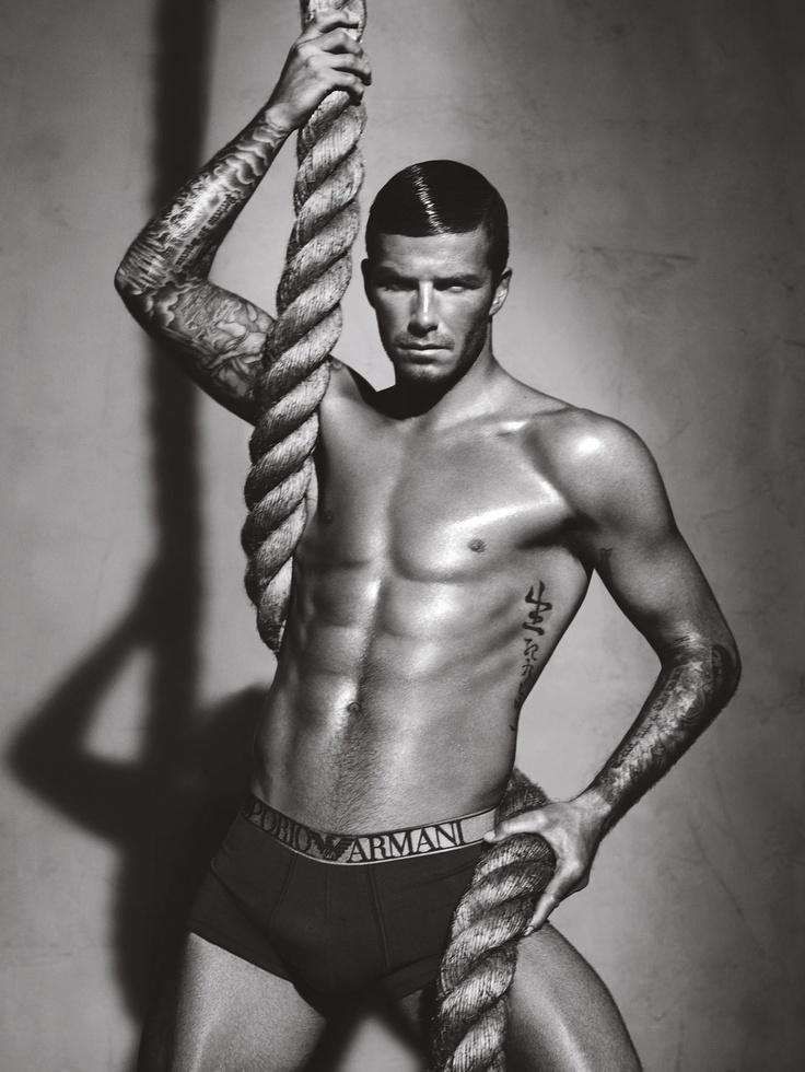 David Beckham for Armani