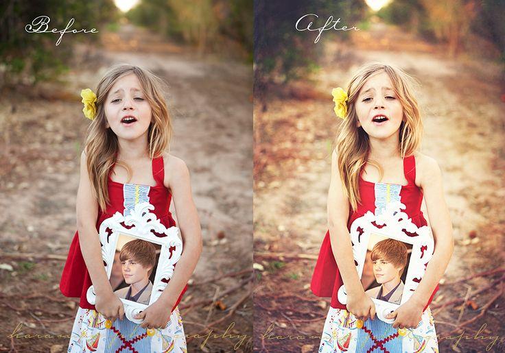 quick and easy editing tips from Kara May Photography.