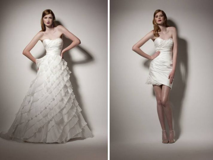 Two in One Wedding Dresses