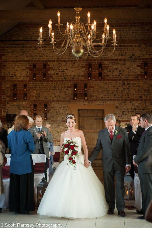 Wedding Upwaltham Barns Bride...Upwaltham barns surround the historic Goodwood House outside of London.