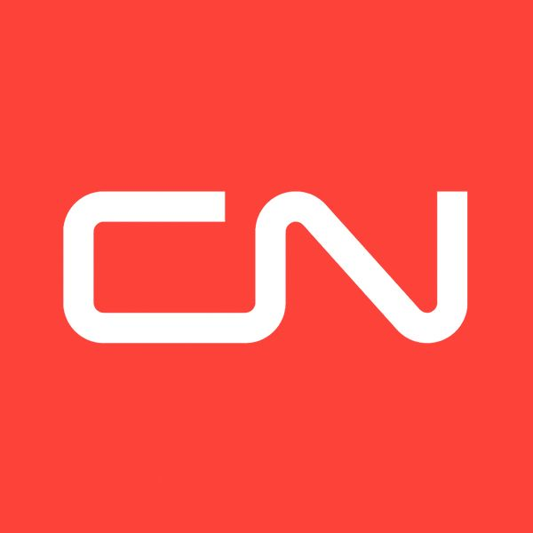 """The Canadian National Railway Company (CN) is a Canadian Class I railway headquartered in Montreal, Quebec that serves Canada and the Midwestern and Southern United States. CN's slogan is """"North America's Railroad"""". CN was government-owned, having been a Canadian Crown corporation from its founding to its privatization in 1995. Bill Gates was in 2011 the largest single shareholder of CN stock"""