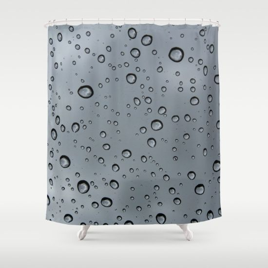 Splash - Customize your bathroom decor with unique shower curtains designed by artists around the world. Made from 100% polyester our designer shower curtains are printed in the USA and feature a 12 button-hole top for simple hanging. The easy care material allows for machine wash and dry maintenance. Curtain rod, shower curtain liner and hooks not included. Dimensions are 71in. by 74in.