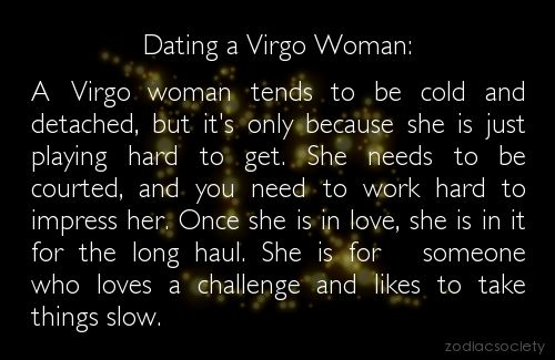Virgo female dating
