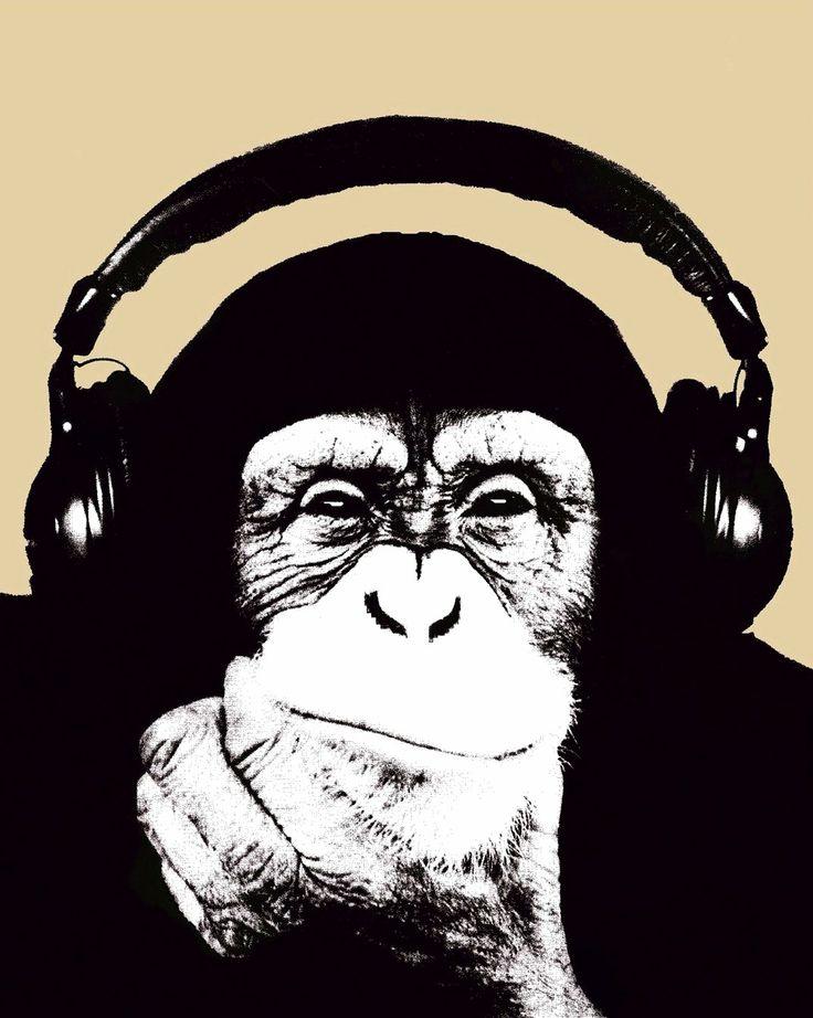 Ravageurs love music.| Banksy