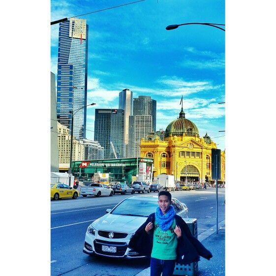 Flinders St, Melbourne Australia