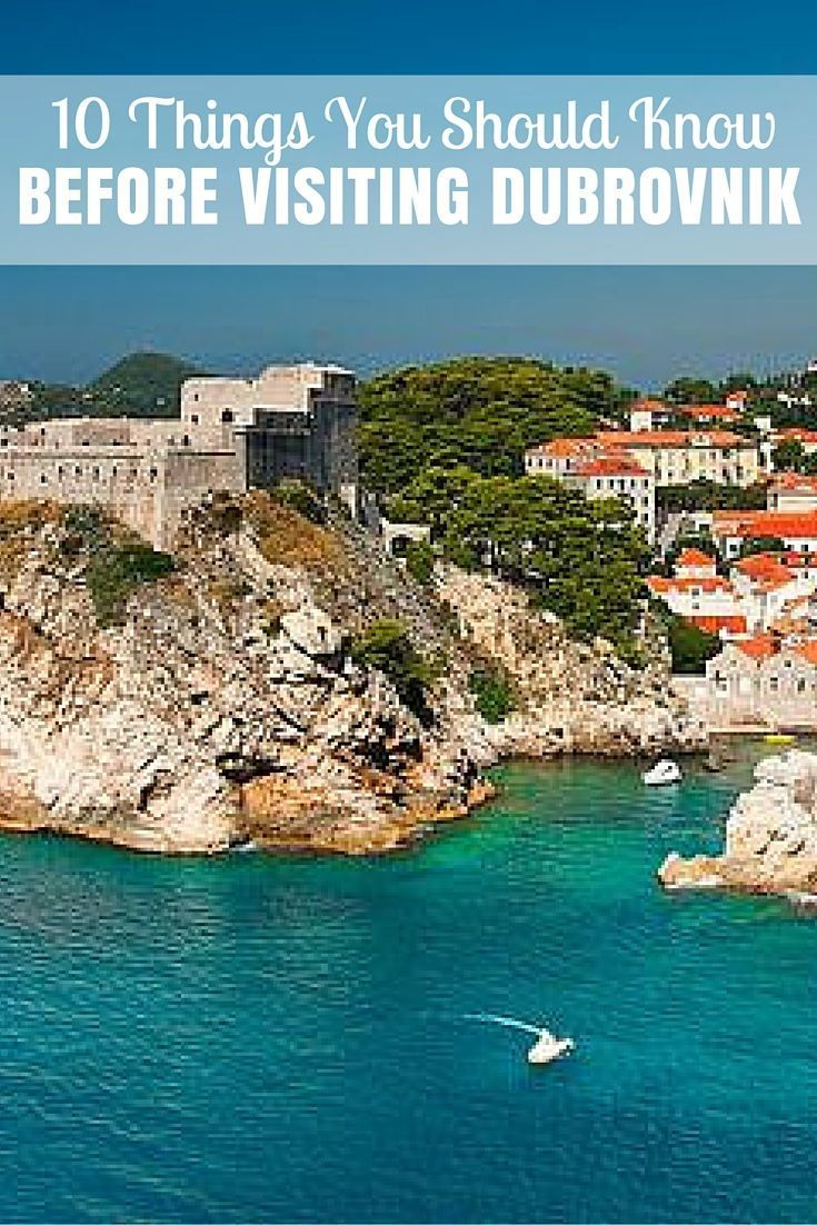 Here are 10 essential observations and things I've discovered while exploring Dubrovnik.