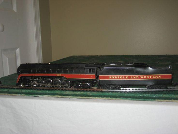 Bachmann HO scale Norfolk & Western Class J 4-8-4 Steam Engine #600 #Bachmann