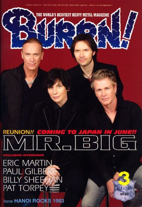 Mr Big (Burrn! Magazine).