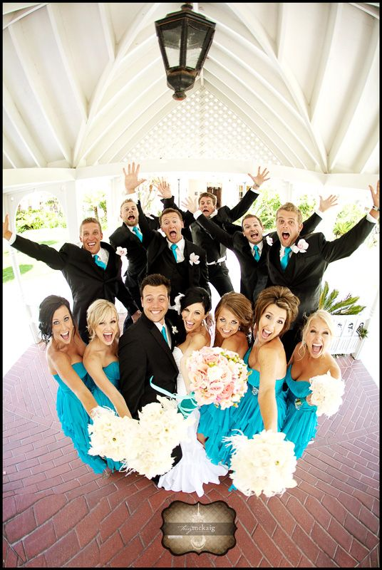 Fun bridal party shot... #weddingphotography